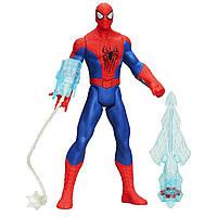 Фигурка Спайдермена высотой 25 см. Marvel Amazing Spider-Man 2 Triple Attack. Со звуком и светом, фото 1