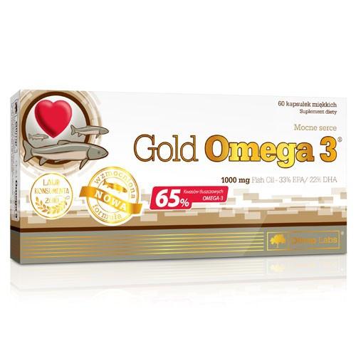 Olimp Gold Omega-3 65% 60 капс.