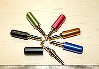 JC011 Штекер аудио джек коннектор роз'єм Jack разъем 3,5 мм 4pin папа для гарнитуры наушников навушників