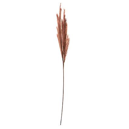 Искусственное растение Осока, 120 см, коричневый, пластик (130429)