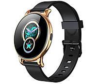 Умные часы женские Max Robotics Ladies Smart music watch ZX-02 смарт-часы Gold-black