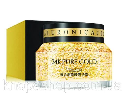 Товар мега скидка! Для заказов от 1500 грн  24 к крем 50 грамм Pure Gold VENZEN