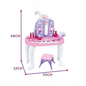 Туалетный столик со стульчиком Woopie 30166, фото 2