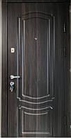 Двери входные Цитадель Комфорт Классик орех темный