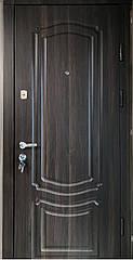 Двері вхідні Цитадель Комфорт Класик горіх темний