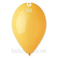 Повітряна куля темно-жовтий 10 дюймів