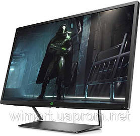 """Монітор HP Pavilion Gaming Діагональ екрану 32"""" роздільна здатність екрану 2560х1440, тип матриці V."""
