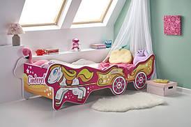 Ліжко дитяче з матрацом CINDERELLA Halmar
