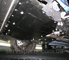 Защита двигателя Fiat Doblo 2009- (фиат Добло)