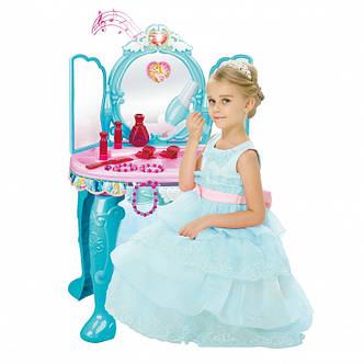 Туалетный столик со стульчиком голубой с MP3 Woopie 30135, фото 2