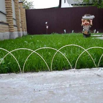 Оградка для клумбы декоративная 1,25 м