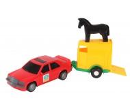 Іграшка Авто-мерс з причепом 39003