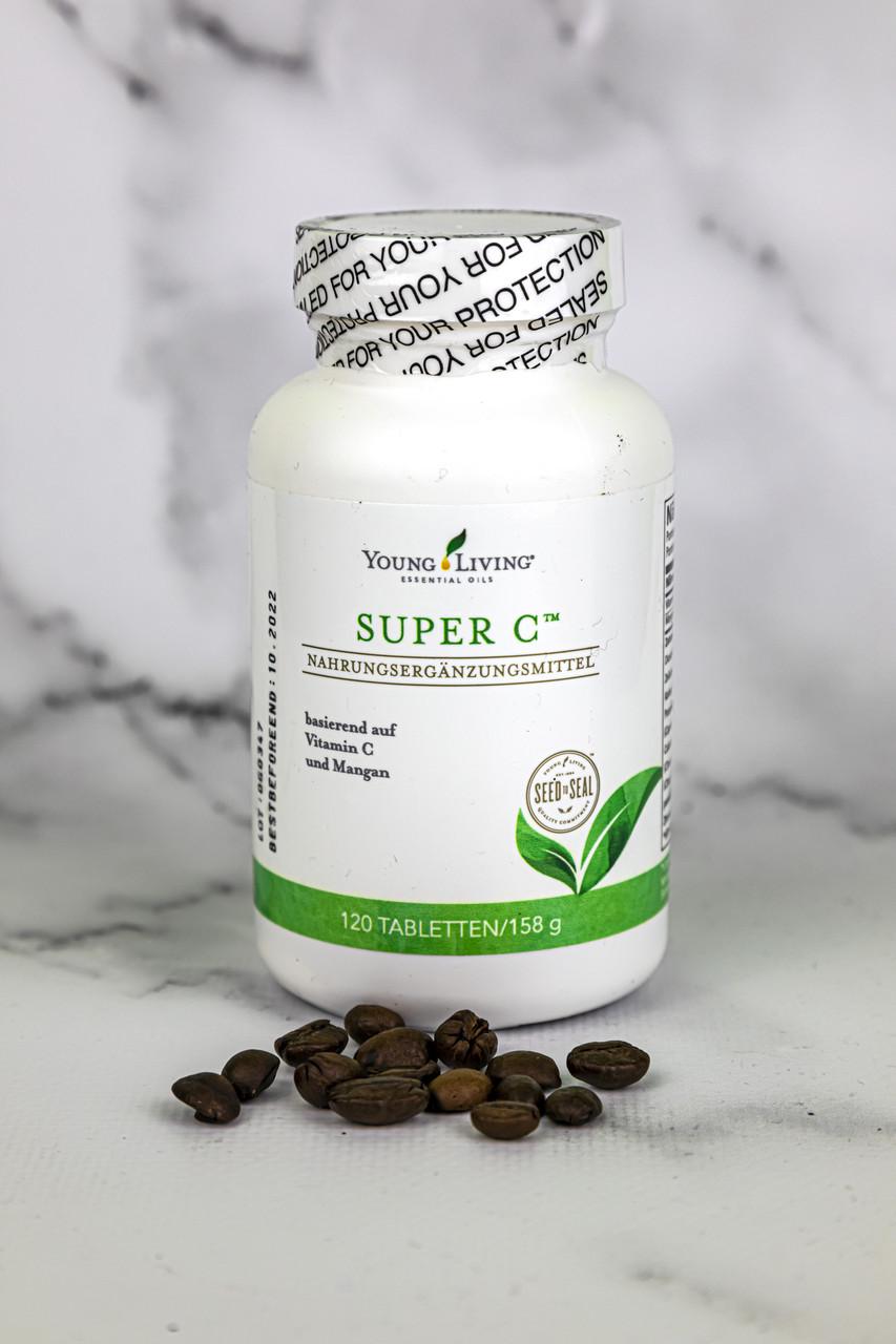 """Витамин """"С"""" с эфирными маслами Super C Tablets Young Living 120in"""