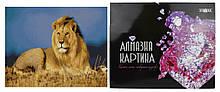 Алмазна картина FA10001 «Цар звірів», розміром 40х50 см