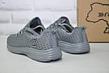 Чоловічі кросівки літні сітка чорні Restime, фото 5