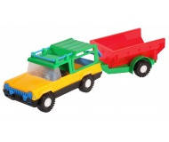 Іграшка Авто-сафарі з причепом 39006