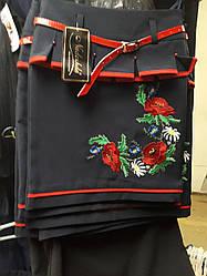 Детская юбка с вышивкой размеры 122-140