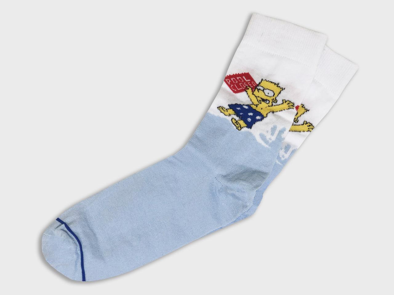 Шкарпетки LOMM Барт Сімпсон у басейні