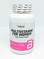 Мультивитаминный комплекс для женщин Multivitamin For Women BioTech USA (60 tabs)