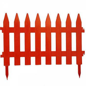 Садовая оградка теракот 46*36 см