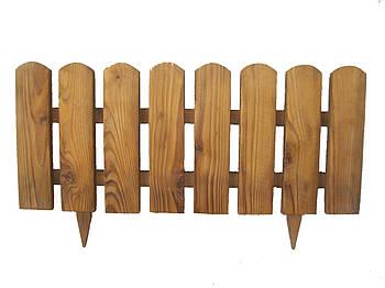 Заборчик из дерева МАЛЫЙ