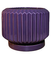 """Горшок керамический для цветов """"Барбарис"""" 4.1л Rezon  Р285"""