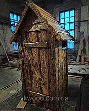 """Уличный деревянный туалет """"Теремок"""""""