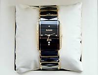 Rado Jubile Golden Diamond Classic AAA кварцевые наручные часы на керамическом браслете и календарем даты