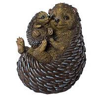 Садова фігура Їжачки мама з малюком 2