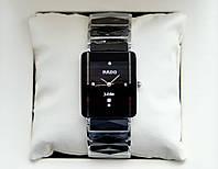 Rado Jubile Silver Classic AAA кварцевые наручные часы на керамическом браслете и календарем даты