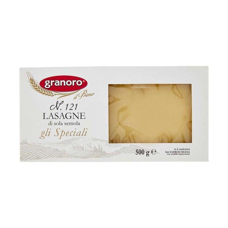 Листы для лазаньи Граноро Granoro №121 500g 12шт