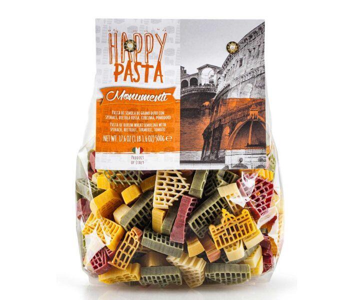 Макарони кольорові Dalla Costa Happy Pasta Monumenti Italiani 500 г (Італія)