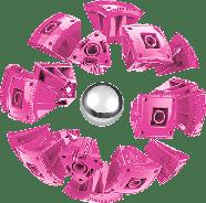 Geomag KOR Pantone Pink | Магнітний конструктор Геомаг Кор рожевий, фото 8