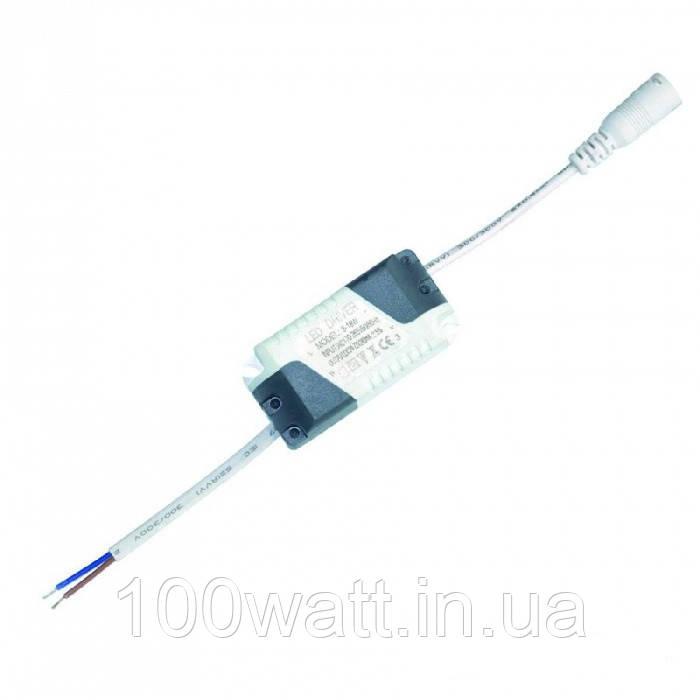 Драйвер для даунлайта 8-18w DC24-72V 280mA - 300mA п\м Lisa 40604