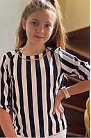Блуза для девочек, 116,122,128,134,140,146,152,158 см,  № 813-2