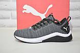 Сірі чоловічі легкі кросівки Puma, фото 5