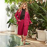 Женский костюм деловой с укороченными брюками, фото 5
