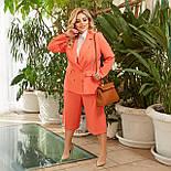 Женский костюм деловой с укороченными брюками, фото 6
