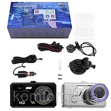 Автомобильный видеорегистратор A11 Full HD 2 камеры, фото 2