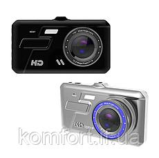 Автомобильный видеорегистратор A11 Full HD 2 камеры, фото 3