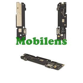 Xiaomi Redmi Note 3 Pro, 30pin, H3A_SUB_LLDB866B1_2 Шлейф-плата з роз'ємом зарядки і мікрофоном Original *PRC