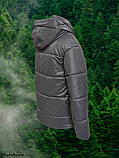 Стильна жіноча демісезонна коротка куртка SK-28, капучіно, фото 6