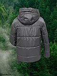 Стильна жіноча демісезонна коротка куртка SK-28, капучіно, фото 2