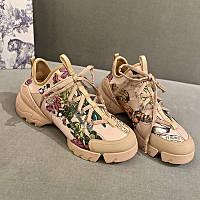 Премиум реплика кроссовки женские Dior D-Connect