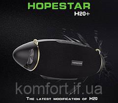 Портативна акустична стерео колонка Hopestar H20+, фото 3