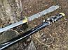 Самурайский меч катана  взлетающий дракон  на подставке с, фото 6