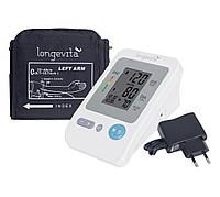 Автоматический тонометр на плечо LONGEVITA BP 1304 с адаптером