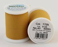 7725/9848 Frosted MATT екстра матові вишивальні нитки, 96% поліестер, 4% кераміка, 500 м