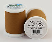 7730/9848 Frosted MATT екстра матові вишивальні нитки, 96% поліестер, 4% кераміка, 500 м
