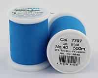 7797/9848 Frosted MATT екстра матові вишивальні нитки, 96% поліестер, 4% кераміка, 500 м